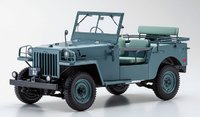 TOYOTA LAND CRUISER BJ Light Green in 1:18 scale by Kyosho