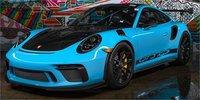 Porsche 911 991.2 GT3 RS in Miami Blue in 1:18 Scale by AUTOart