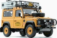 Land Rover Defender 90 Camel Trophy Edition Diecast Model in 1:18 by Almost Real
