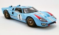 1966 Le Mans Ford GT40 Mk II Ken Miles in 1:18 Scale by Shelby Collectibles