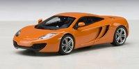McLaren MP4-12C in Volcano Orange Model Car in 1:43 Scale by AUTOart