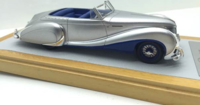 1948 Talbot Lago T26 Record Cabriolet Saoutchik sn100272 Baillon Resin Model Car in 1:43 Scale by Ilario