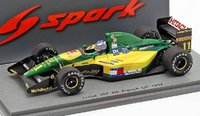 Lotus 107 #11 French GP 1992 in 1:43 Scale by Spark