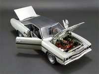 1970 Plymouth GTX in Silver Metallic by GMP in 1:18 Scale