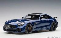 Mercedes AMG GT R in Blue in 1:18 Scale by AUTOart