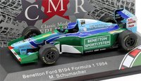 Benetton Ford B194 F1 1994 in 1:43 Scale by CMR