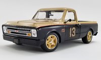 1967 Chevrolet C-10 Shop Truck - Smokey Yunick Diecast Model by Acme in 1:18 Scale