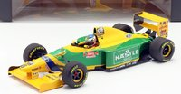 Benetton Ford B193 Michael Schumacher German GP 1993 in 1:18 scale by Minichamps