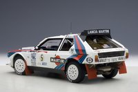 1986 Lancia Delta S4 Martini Rally Winner Argentina 1986 Biasion/Siviero #5  Diecast Model Car in 1:18 Scale by AUTOart