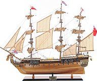HMS Surprise in 1:8 Scale by Old Modern Handicrafts