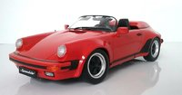 1989 Porsche 911 speedster red in 1:18 scale by KK Diecast