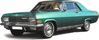 Opel Diplomat A Green in 1:18 Scale by Schuco