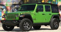 2019 Jeep Wrangler Rubicon in 1:18 Scale by GT Spirit
