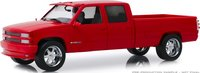 1997 Chevrolet 3500 Crew Cab Silverado Victory Red in 1:18 scale by Greenlight