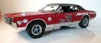 1967 Mercury Cougar Racing Watkins Glen in 1:18 Scale by Sun Star