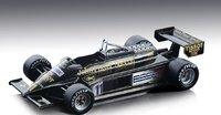 Lotus 87 #11 1981 Italy GP John Player Special Elio de Angelis in 1:18 scale by Tecnomodel