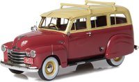 1949-53 Chevrolet Suburban  side skirts & single rear door  in 1:43 Scale by Esval Models