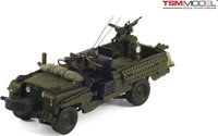 "1968 Land Rover Series IIA 109""  SAS Patrol Vehicle Model Car in 1:43 Scale by Truescale Miniatures"