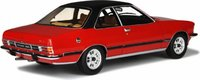 1977 Opel Commodore B GS/E in Red Resin Model Car in 1:18 Scale by Otto Mobile