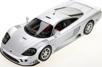 Saleen S7 Twin Turbo in Silver in 1:18 Scale by Top Marques Collectibles