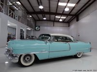 1956 Cadillac Coupe de Ville  Blue/white in 1:43 Scale by GIM
