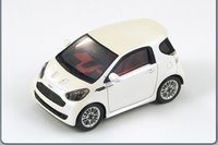 Aston Martin Cygnet, 2011 Pearl White by Spark in 1:43 Scale