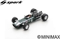 Cooper T86B No.6  4th Monaco GP 1968  Lodovico Scarfiotti in 1:43 scale by Spark