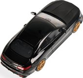 2015 Brabus 850 Mercedes-Benz S 63 AMG S-Class Coupe in Black Model Car in 1:43 Scale by Minichamps