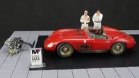 1958 Maserati 300S Complete Set Diecast Model Car by CMC in 1:18 Scale