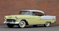 1955 Chevy Bel Air Convertible Harvest Gold in 1:18 scale by Auto World