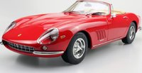 1967 275 GTB/4 NART Spyder Red in 1:12 Scale by Top Marques
