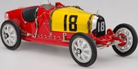 1924 Bugatti T35 Spain Diecast Model Car by CMC in 1:18 Scale
