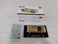 Jaguar C-Type 1953 Golden Livery by CMC 25 Year Ann Edition 1:18 Scale by CMC