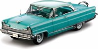 1956 LINCOLN PREMIERE HARD TOP blue in 1:18 scale by Sun Star