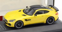 2017 Mercedes-Benz AMG GT R Yellow in 1:43 Scale by CMR
