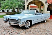 1968 Cadillac DeVille Convertible Blue in 1:43 Scale by GIM