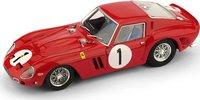 1962 Ferrari 250 GTO - 3987GT - 1000 km Paris 1962 Pedro, Ricardo Rodriguez #1 in 1:43 Scale by Brumm