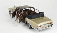 Mercedes-Benz 600 Pullman Limousine Beige in 1:18 Scale by CMC