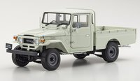 Toyota Land Cruiser 40 Pickup white in 1:18 scale by Kyosho