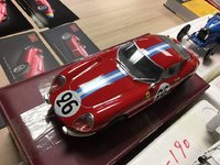 1966 Ferrari 275 GTB/C Le Mans #26 in 1:18 Scale by CMC
