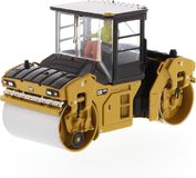 Cat® CB-13 Tandem Vibratory Roller with Cab in 1:50 scale by Diecast Masters