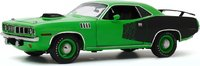 1971 Plymouth Cuda w Crate 392 Hemi Engine in 1:18 Scale by Highway 61