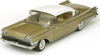 1959 Mercury Park Lane Hard Top - Marble White/Golden Beige Diecast Model Car in 1:18 Scale by Sun Star