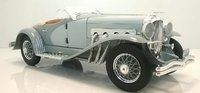 1935 Duesenberg SSJ in grey 1:18 scale by AutoWorld