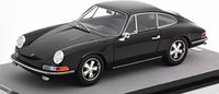 1967 Porsche 911 S Gloss Black in 1:18 Scale by Tecnomodel