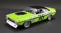 Sam Posey's 1970 Dodge Trans Am Challenger Diecast Model Car in 1:18 Scale by Acme