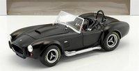 Ford Shelby Cobra 427 MK II 1965 Diecast in Matt Black by Solido in 1:18 Scale