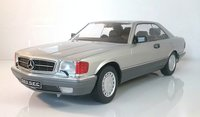 1985 MERCEDES 560 SEC (C126) in 1:18 scale by Kyosho