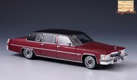 1978 Cadillac Fleetwood 75 red in 1:43 scale By Stamp Models