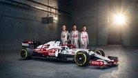 Alfa Romeo ORLEN C41 No.7 Alfa Romeo Sauber Bahrain GP 2021 Kimi Räikkönen in 1:43 scale by Spark